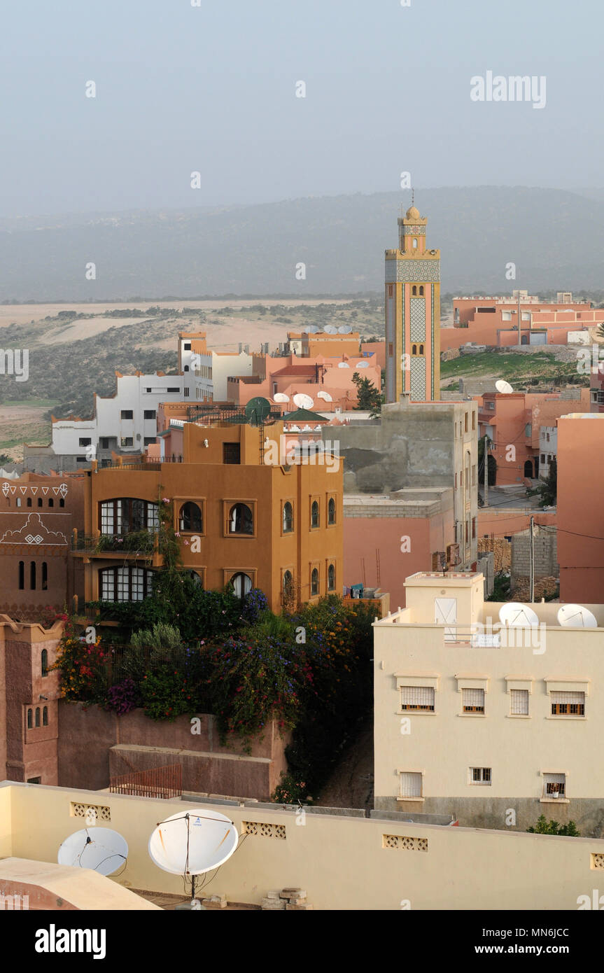 Astonishing Moroccan Homes Houses In Tagazout Morocco Stock Photo Interior Design Ideas Gentotryabchikinfo