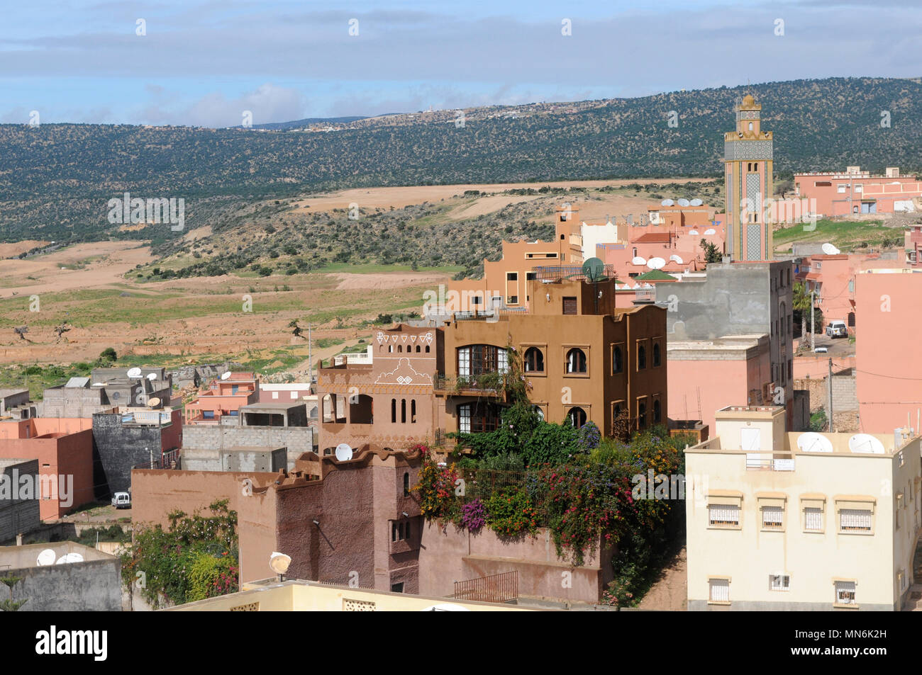Tremendous Moroccan Homes Houses In Tagazout Morocco Stock Photo Interior Design Ideas Gentotryabchikinfo