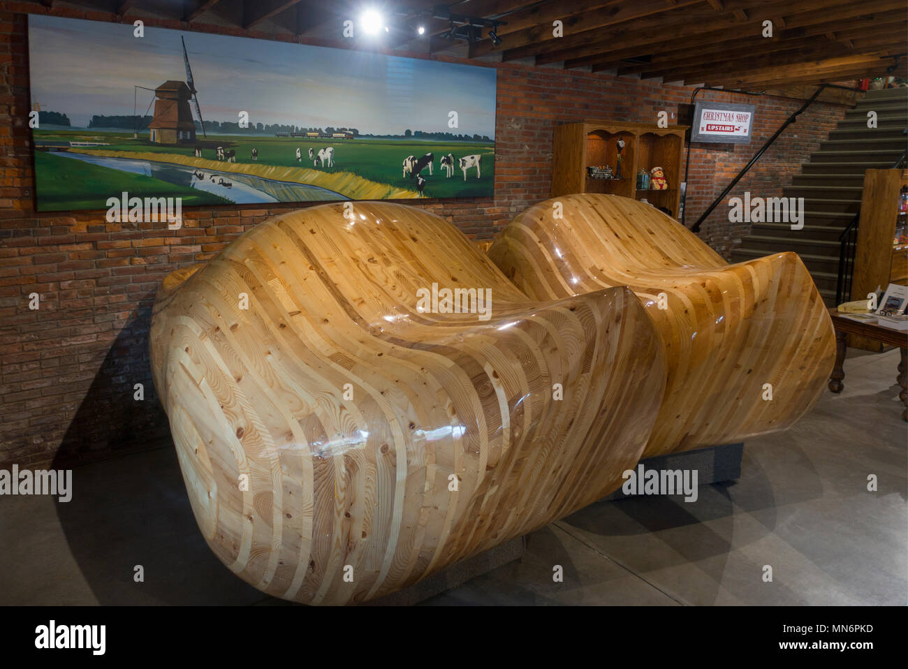 worlds records collection in Casey Illinois - Stock Image