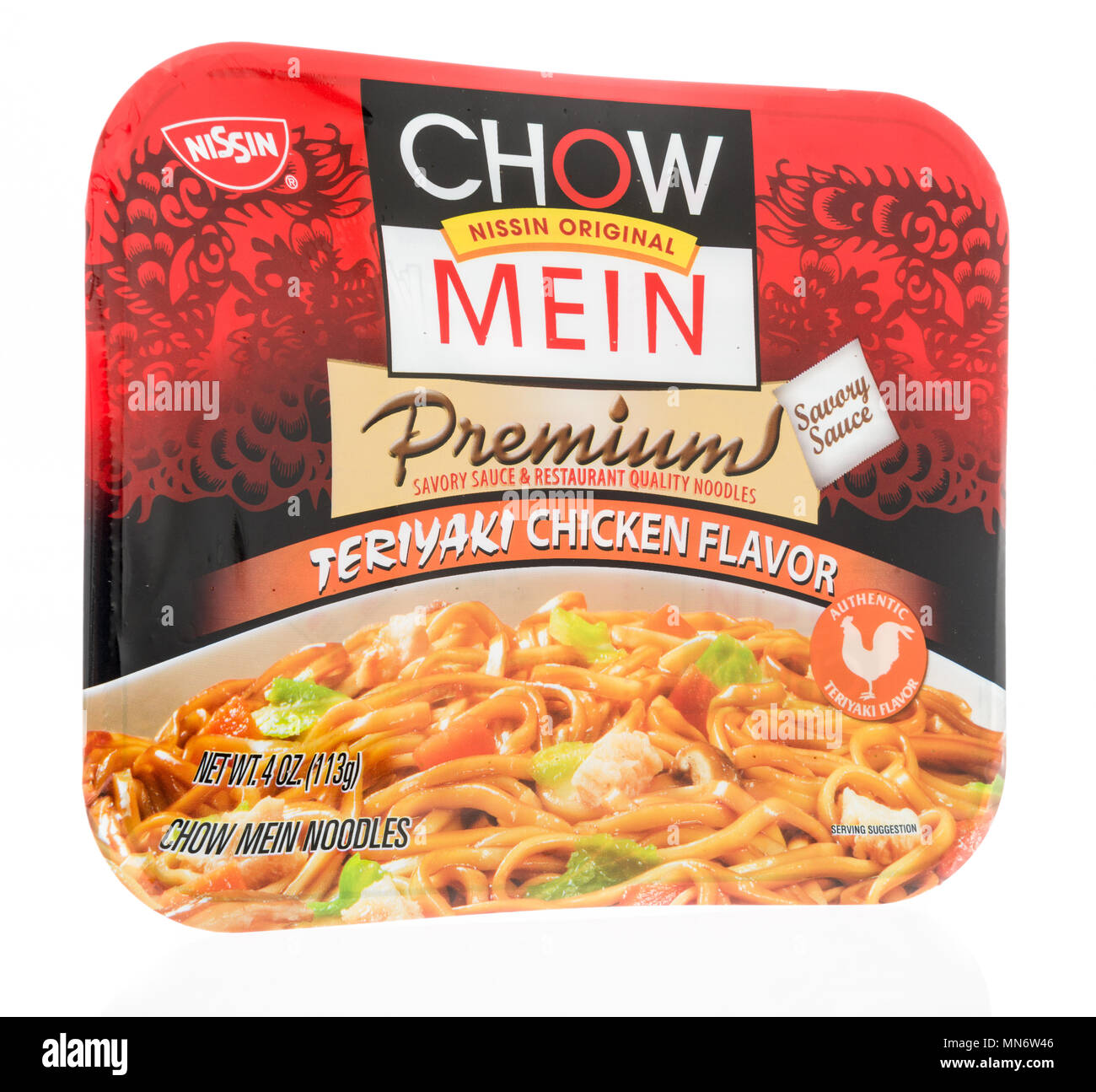 Chow Mein Noodles Isolated High Resolution Stock Photography And Images Alamy