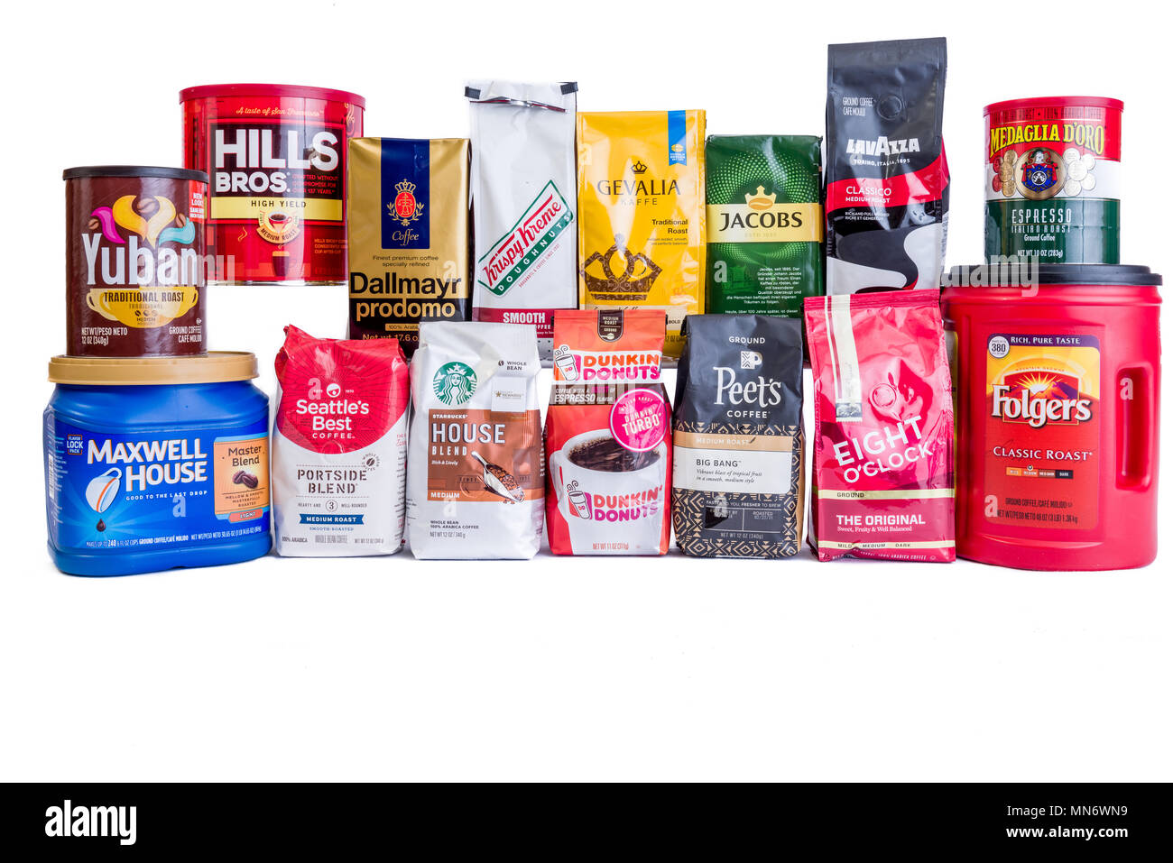 Coffee Brands High Resolution Stock Photography And Images Alamy