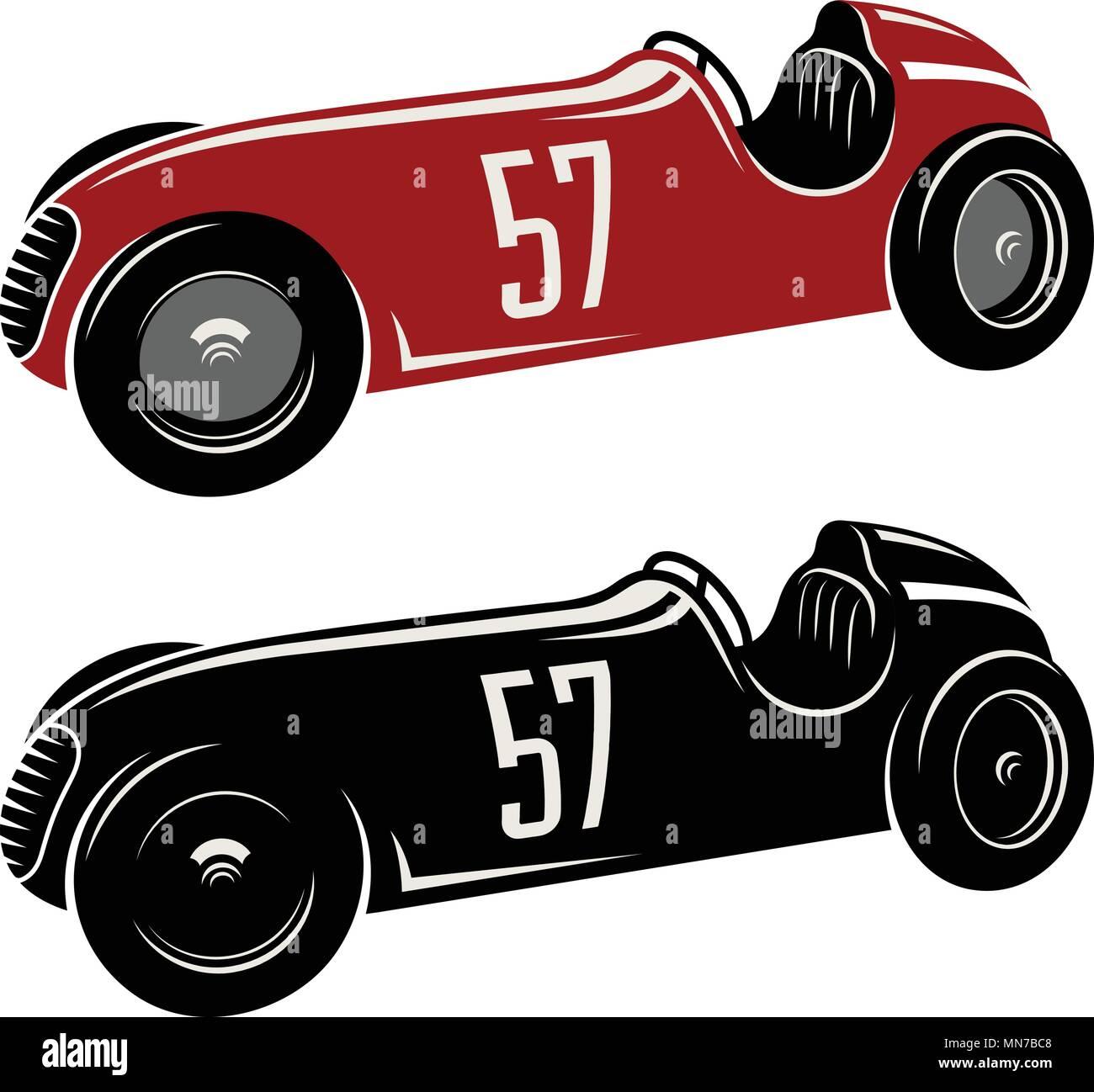 Racing Car Vector Illustration Vintage Sport Car Graphic Tee Stock Vector Image Art Alamy