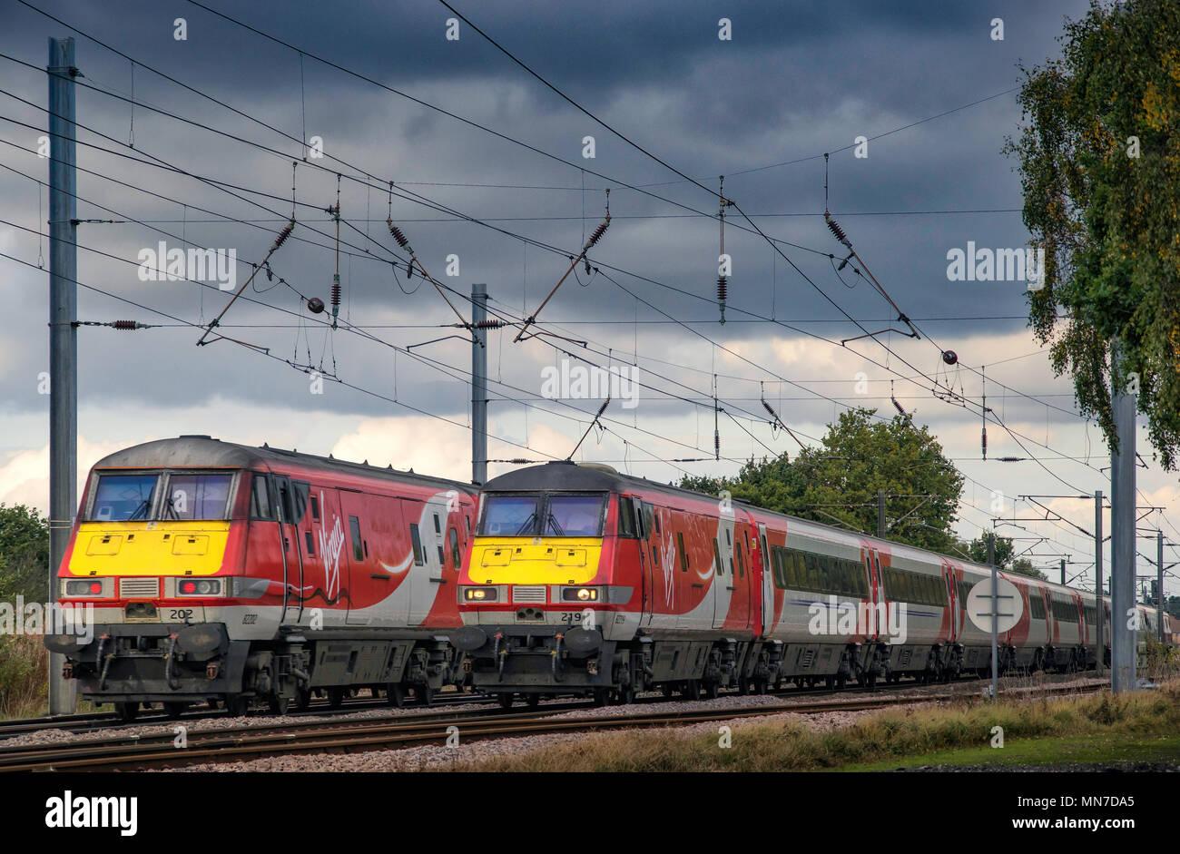 Virgin Trains - Stock Image