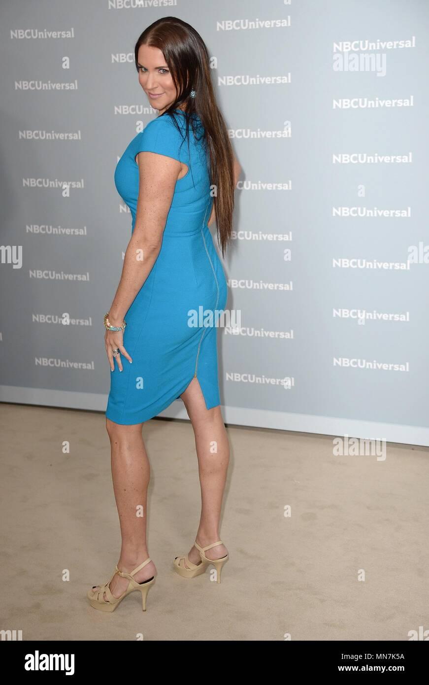 New York, NY, USA. 14th May, 2018. Stephanie McMahon at arrivals for NBC Universal Upfront 2018 - Part 2, Rockefeller Plaza, New York, NY May 14, 2018. Credit: Kristin Callahan/Everett Collection/Alamy Live News - Stock Image