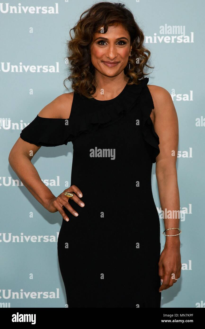 Sarayu Blue At Arrivals For Nbc Universal Upfront 2018