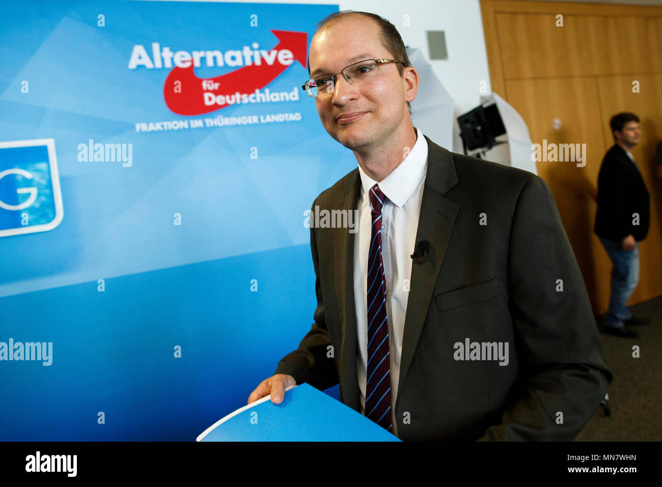 15 May 2018, Germany, Thuringia: Thuringia's parliamentary whip of ...