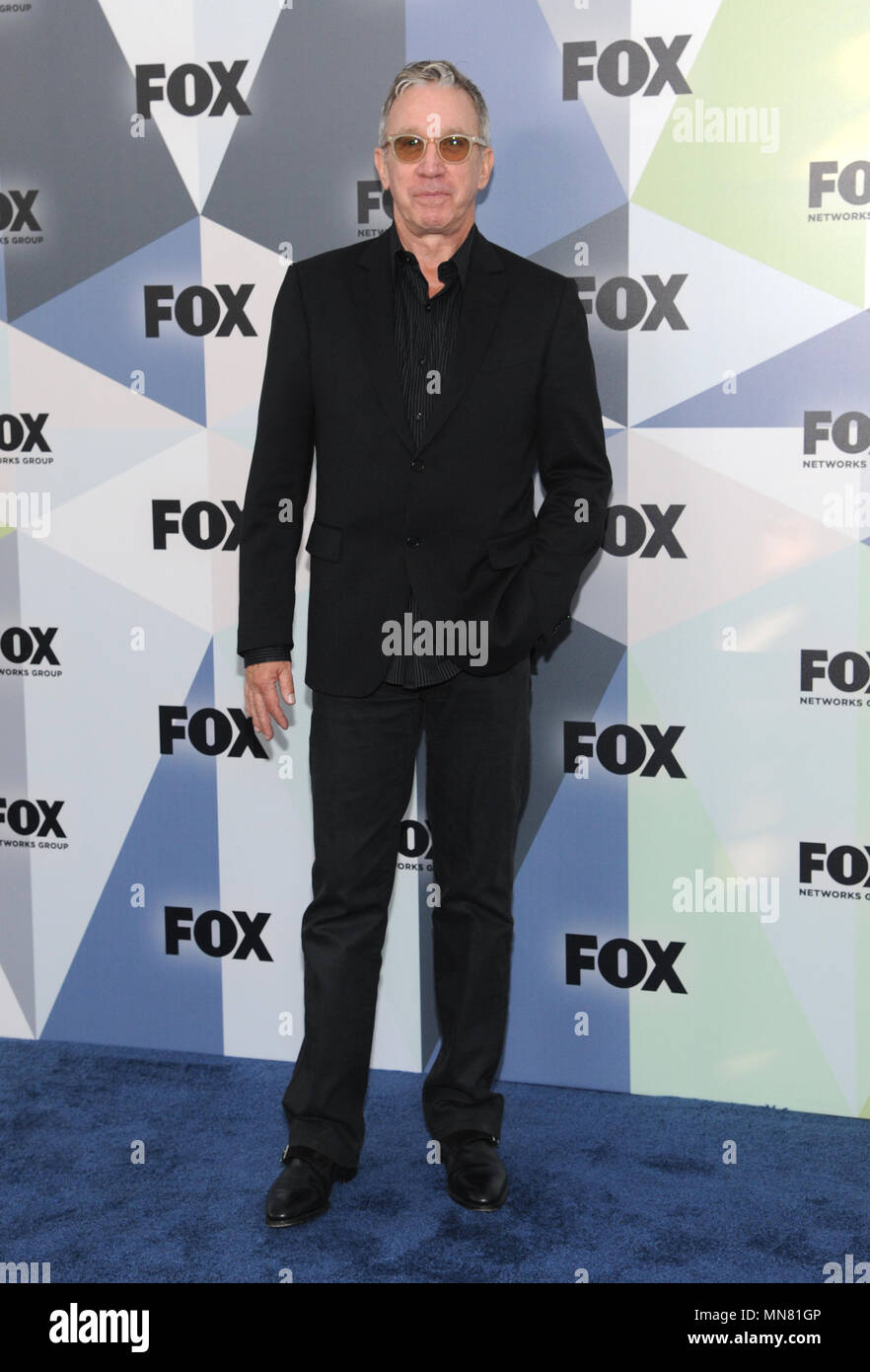 NEW YORK, NY - MAY 14: Tim Allen at the 2018 Fox Network Upfront at Wollman Rink, Central Park on May 14, 2018 in New York City. Credit: John Palmer/MediaPunch - Stock Image