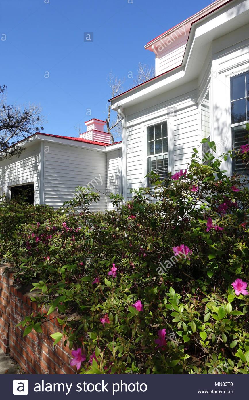 Southport, North Carolina Home Stock Photo