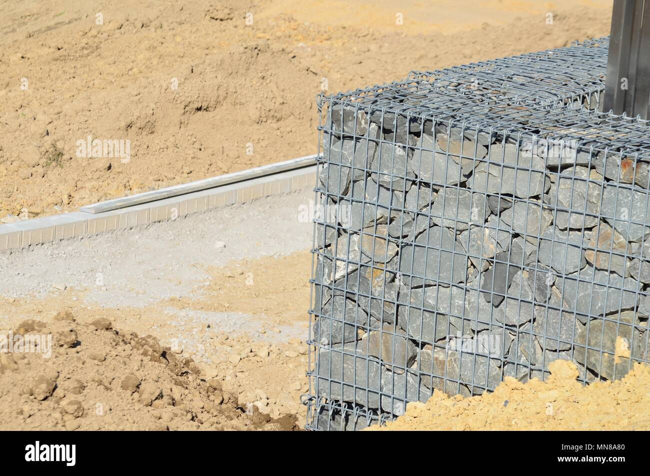 Exelent Stone Filled Wire Cages Ideas - The Wire - magnox.info