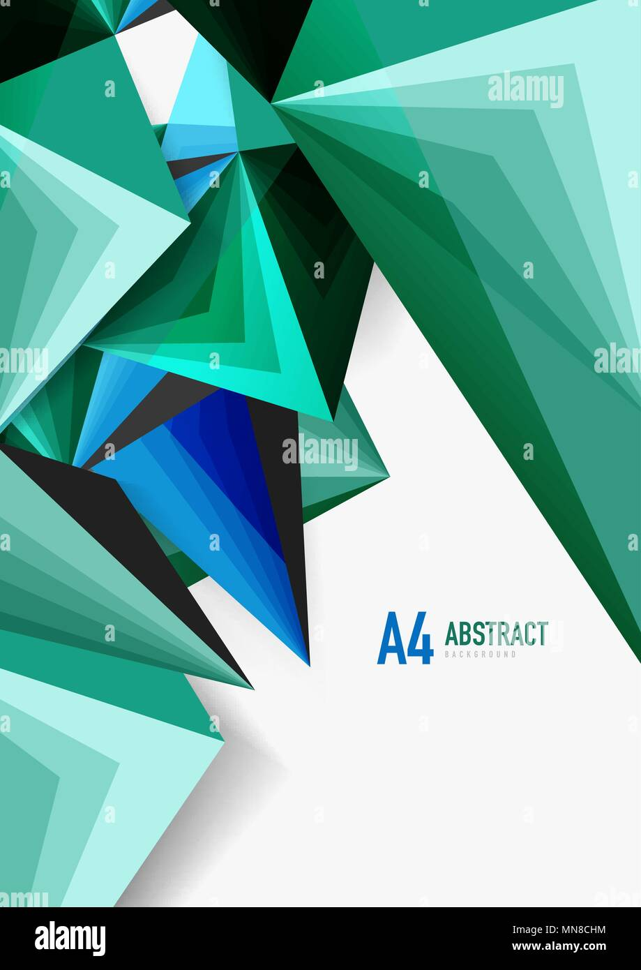vector low poly style 3d triangle line vector low poly style 3d