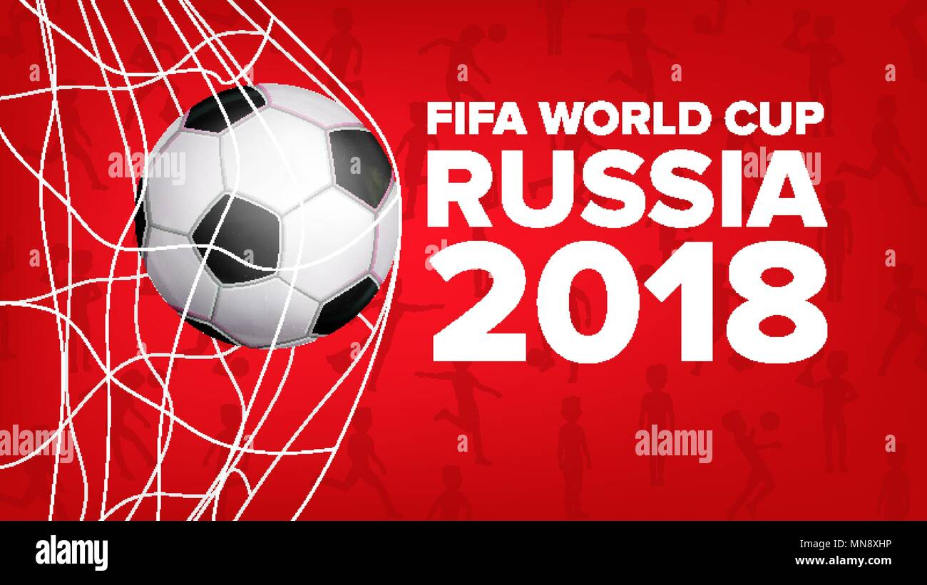 2018 Fifa World Cup Banner Vector Russia Event Soccer Design For