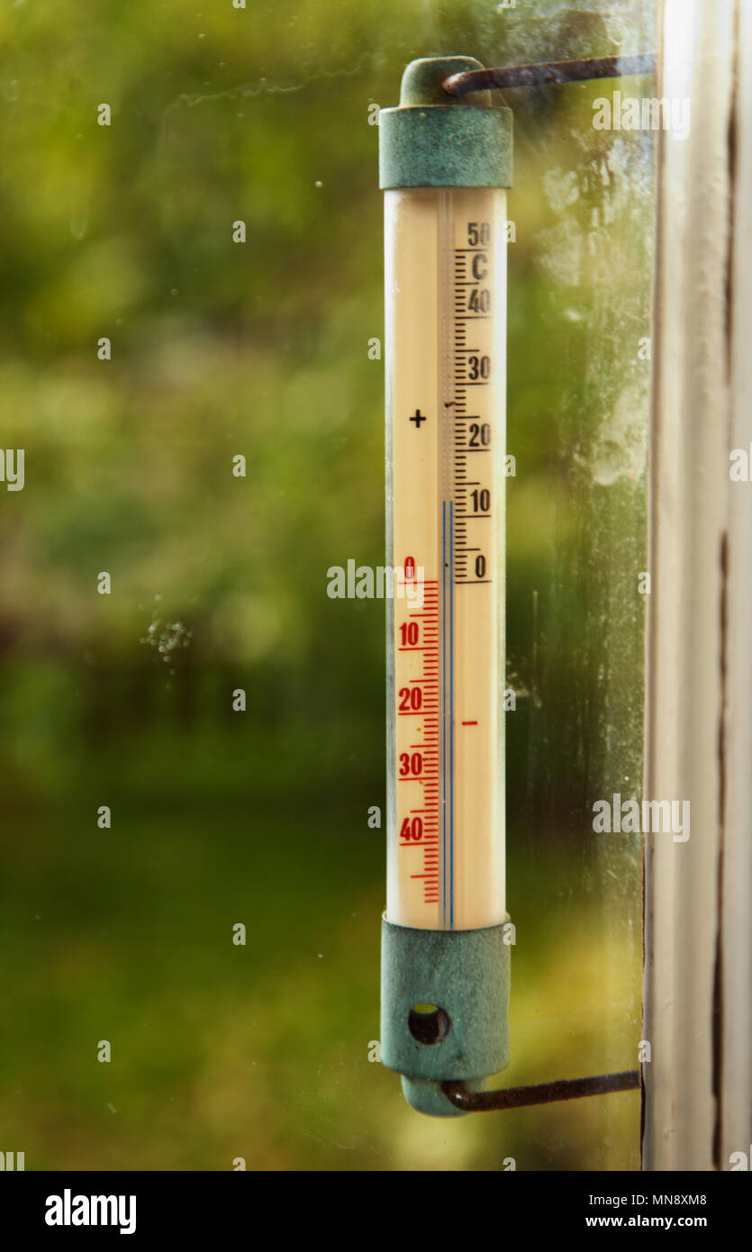 Thermometer outside