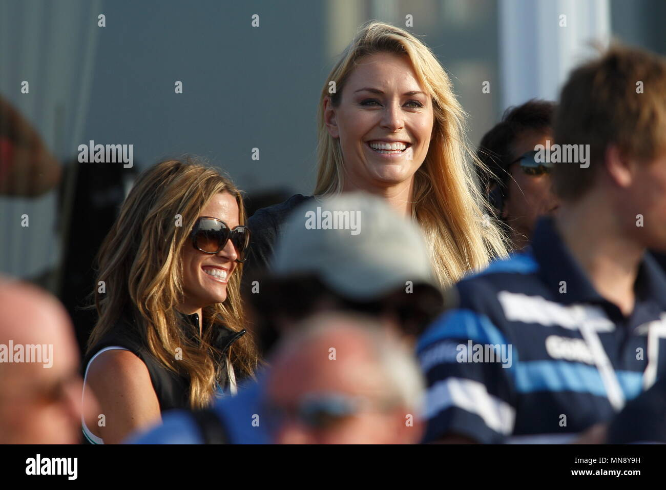 Muirfield Scotland July 20 Lindsey Vonn Girlfriend Of Tiger