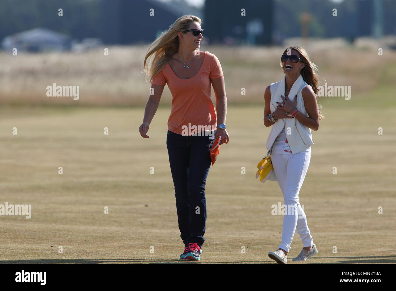 Muirfield Scotland July 17 Lindsey Vonn With Fred Couples