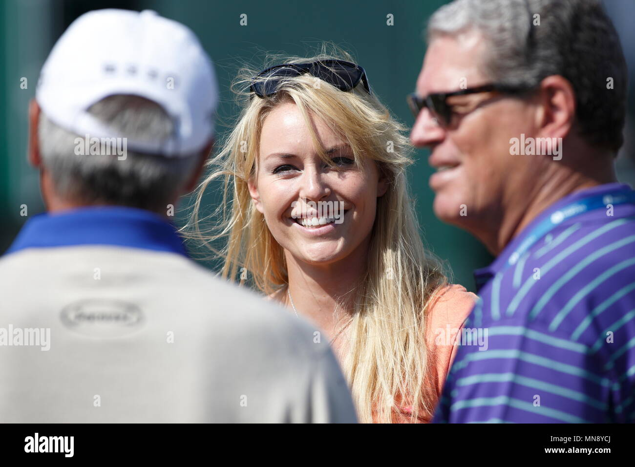 Muirfield Scotland July 17 Lindsey Vonn Girlfriend Of Tiger