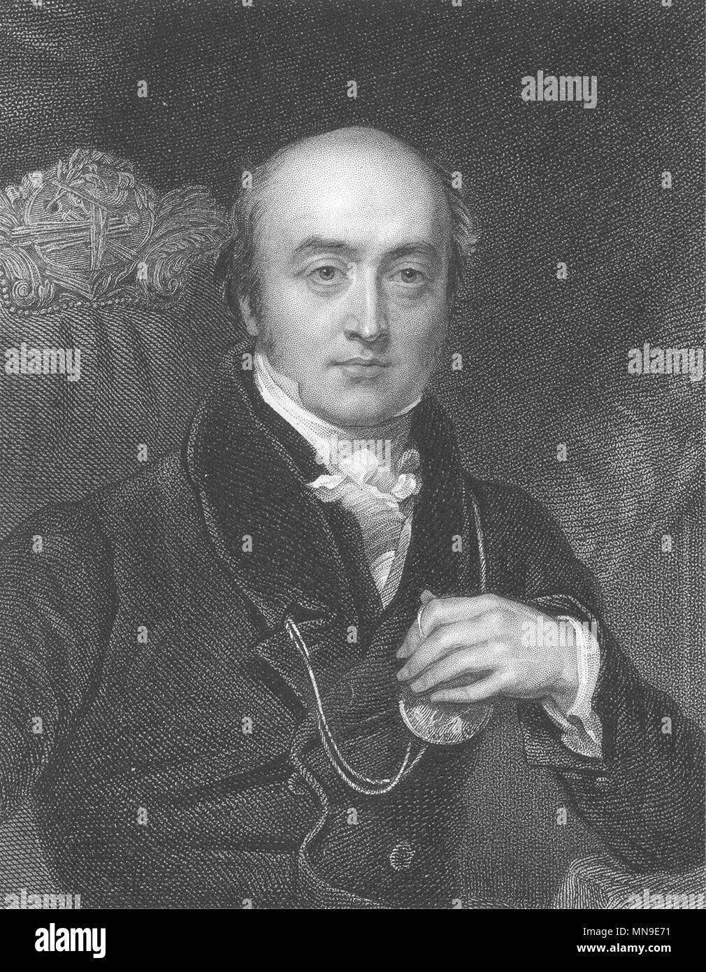 ARTISTS. Sir Thomas Lawrence, R. A. Landseer c1840 old antique print picture - Stock Image