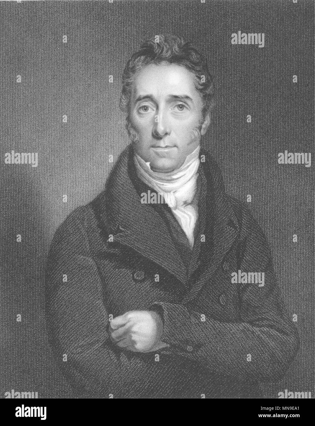 PEERS. Lord Jeffrey c1840 old antique vintage print picture - Stock Image