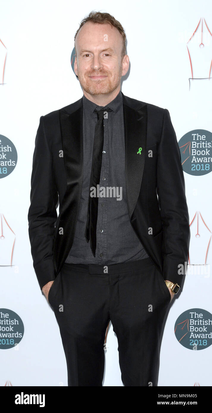 Photo Must Be Credited ©Alpha Press 078237 14/05/2018 Matt Haig at The British Book Awards 2018 held at the Grosvenor House Hotel in London in London - Stock Image