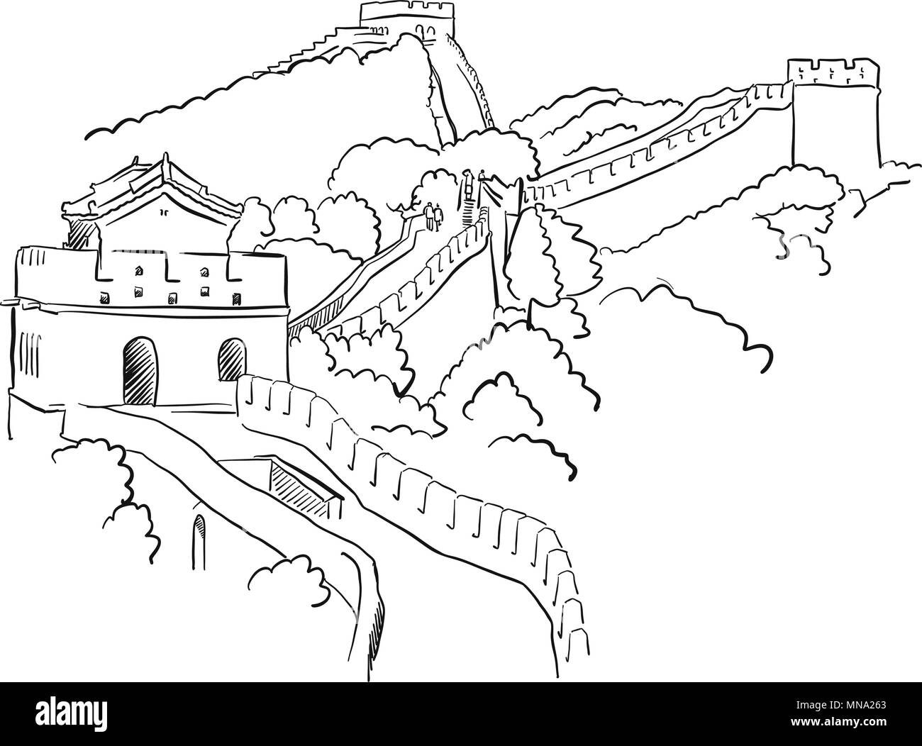 china landmarks coloring pages - photo#6
