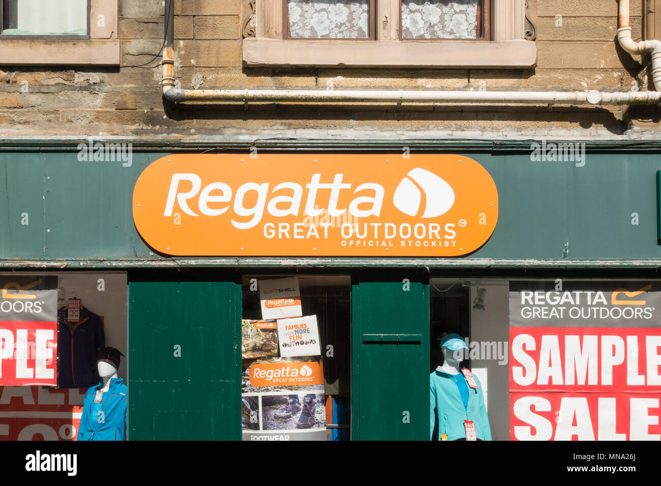 Regatta Great Outdoors store - Stock Image