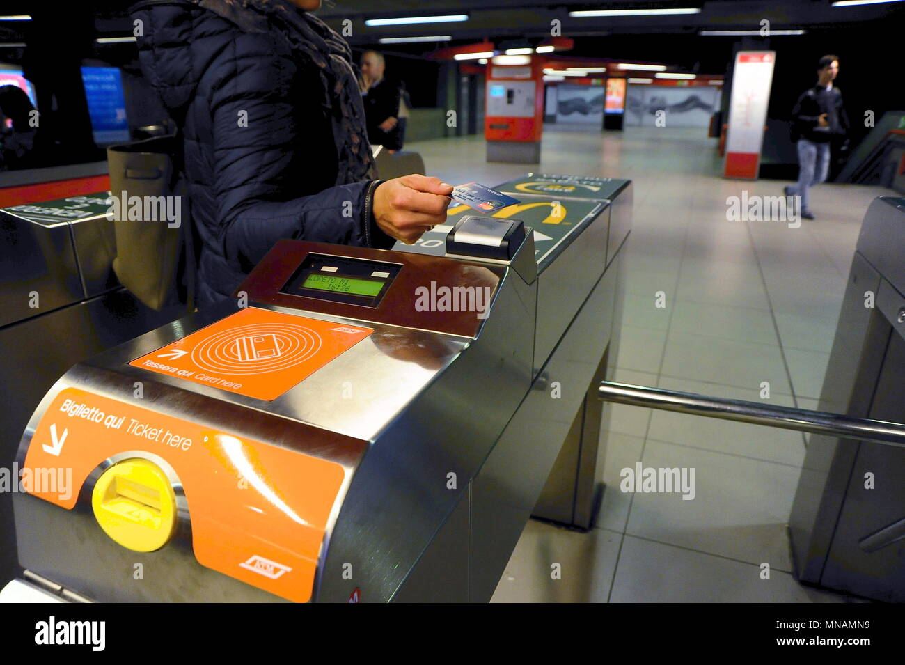 New payment system for Metro tickets by credit card