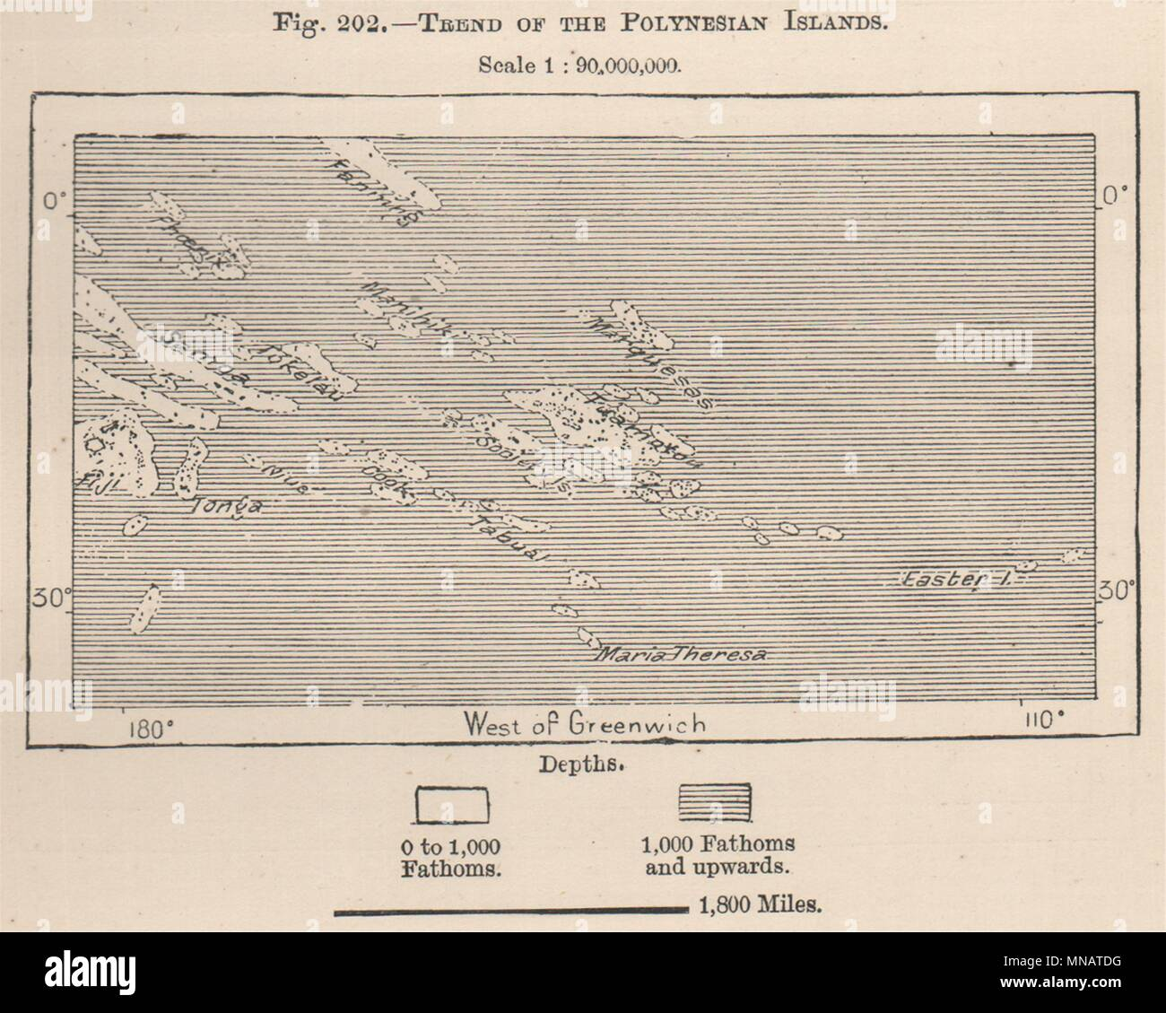 South Pacific Islands Map Stock Photos & South Pacific Islands Map ...