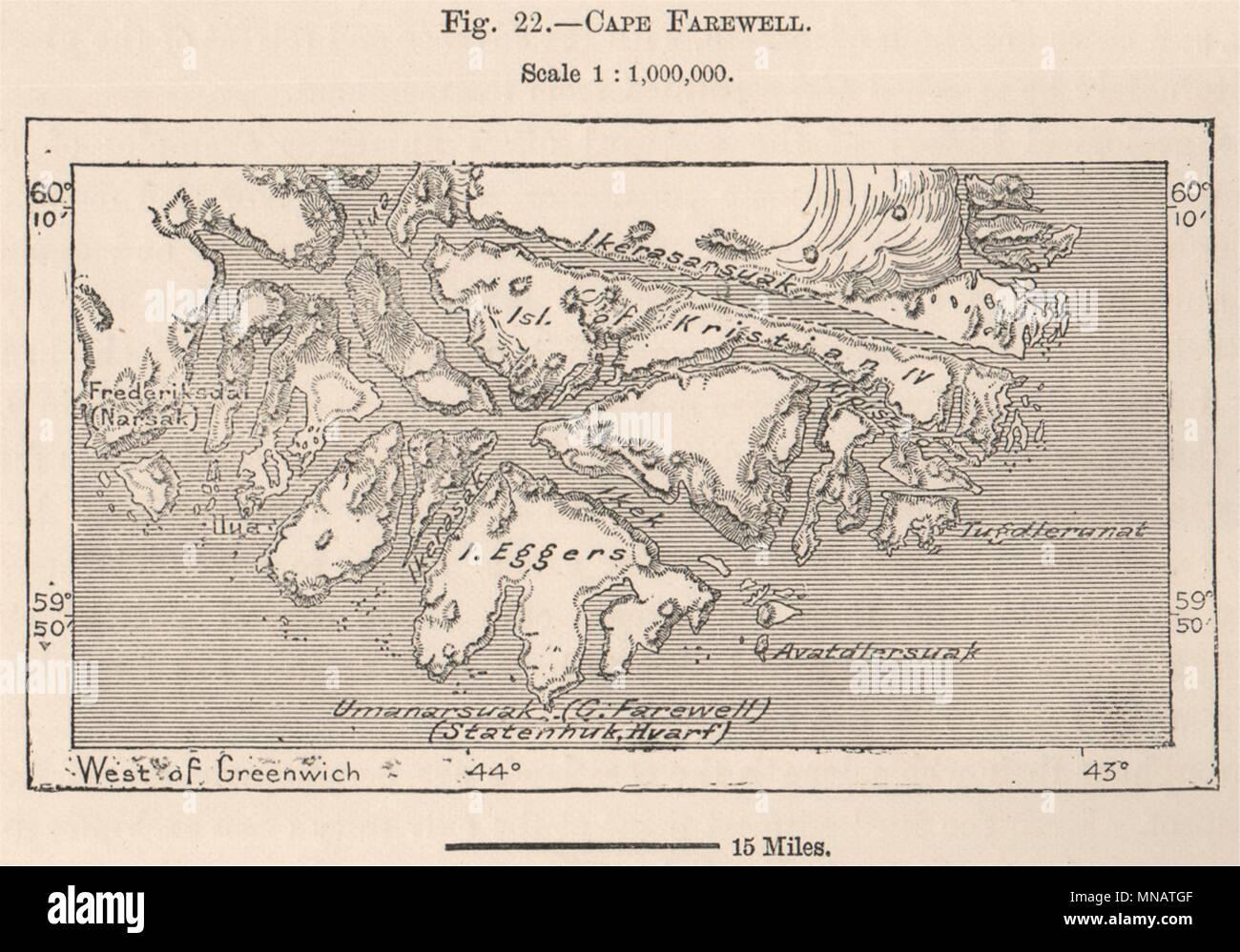 Mogadishu Somalia 1885 old antique vintage map plan chart