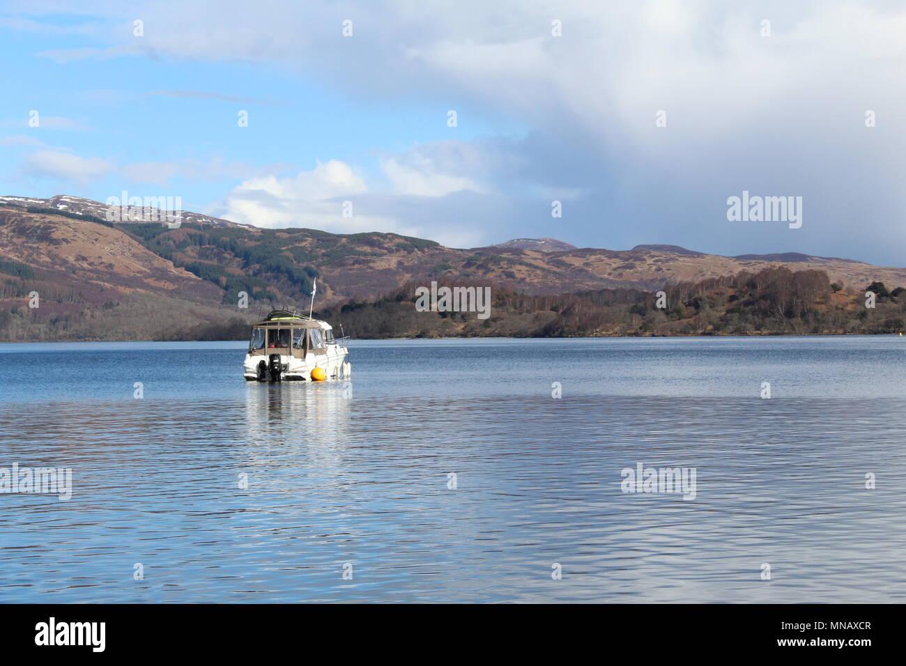 Loch Lomond, Scotland - Stock Image