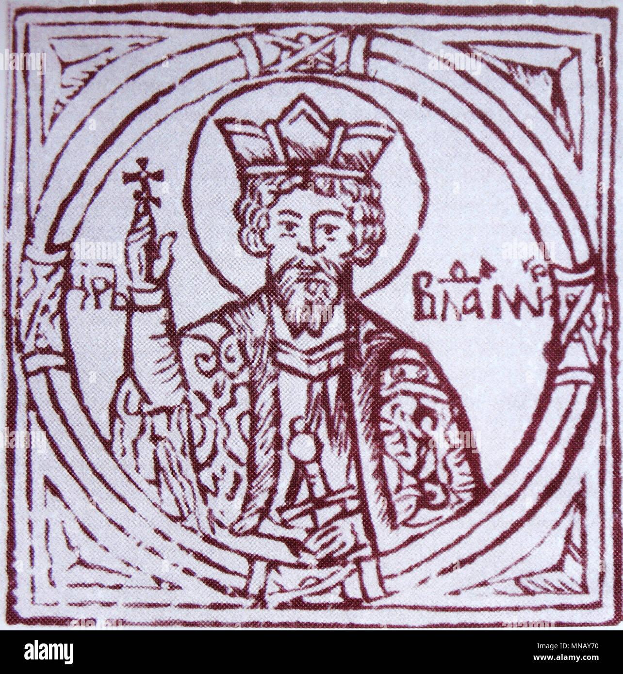 Vladimir the Great, Saint Vladimir of Kiev (958 – 1015) - Stock Image
