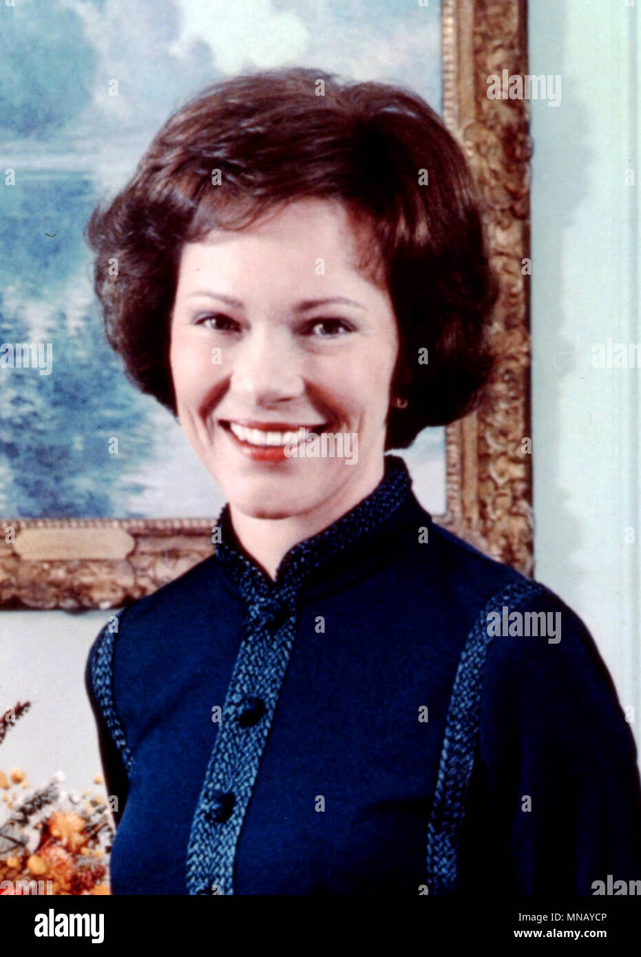Rose Carter, Eleanor Rosalynn Carter, wife of the 39th President of the United States, Jimmy Carter, and served as the First Lady of the United States from 1977 to 1981 - Stock Image