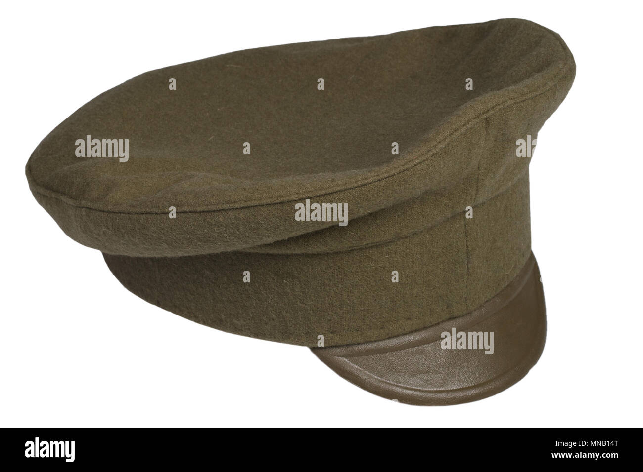 world war 1914 - 1918 army cap isolated on white background Stock Photo