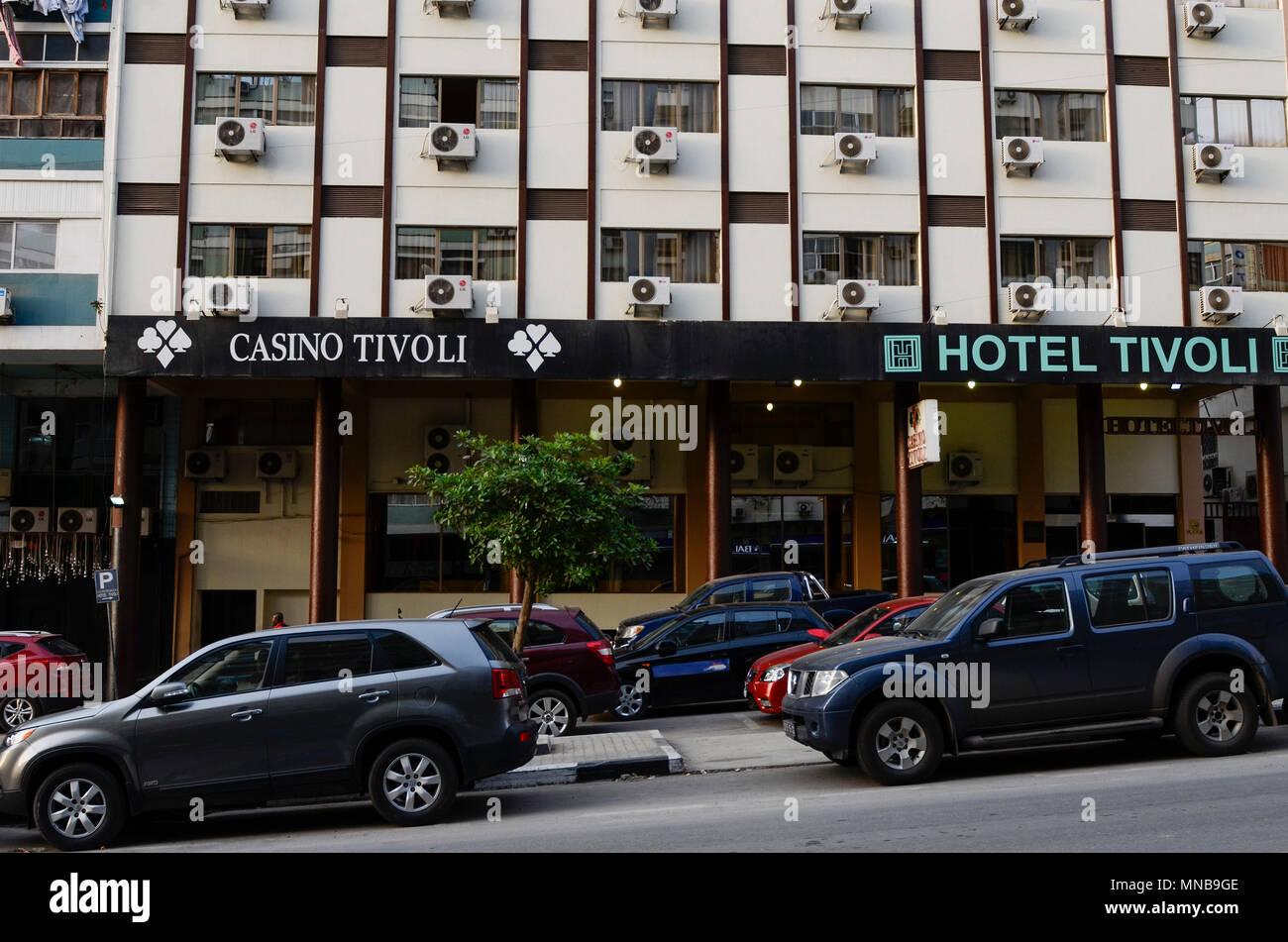 ANGOLA Luanda, Hotel Tivoli - Stock Image