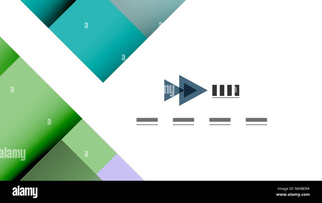 business presentation geometric template business presentation