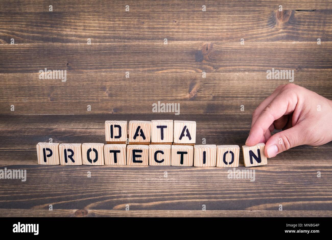 GDPR. General Data Protection Regulation - Stock Image