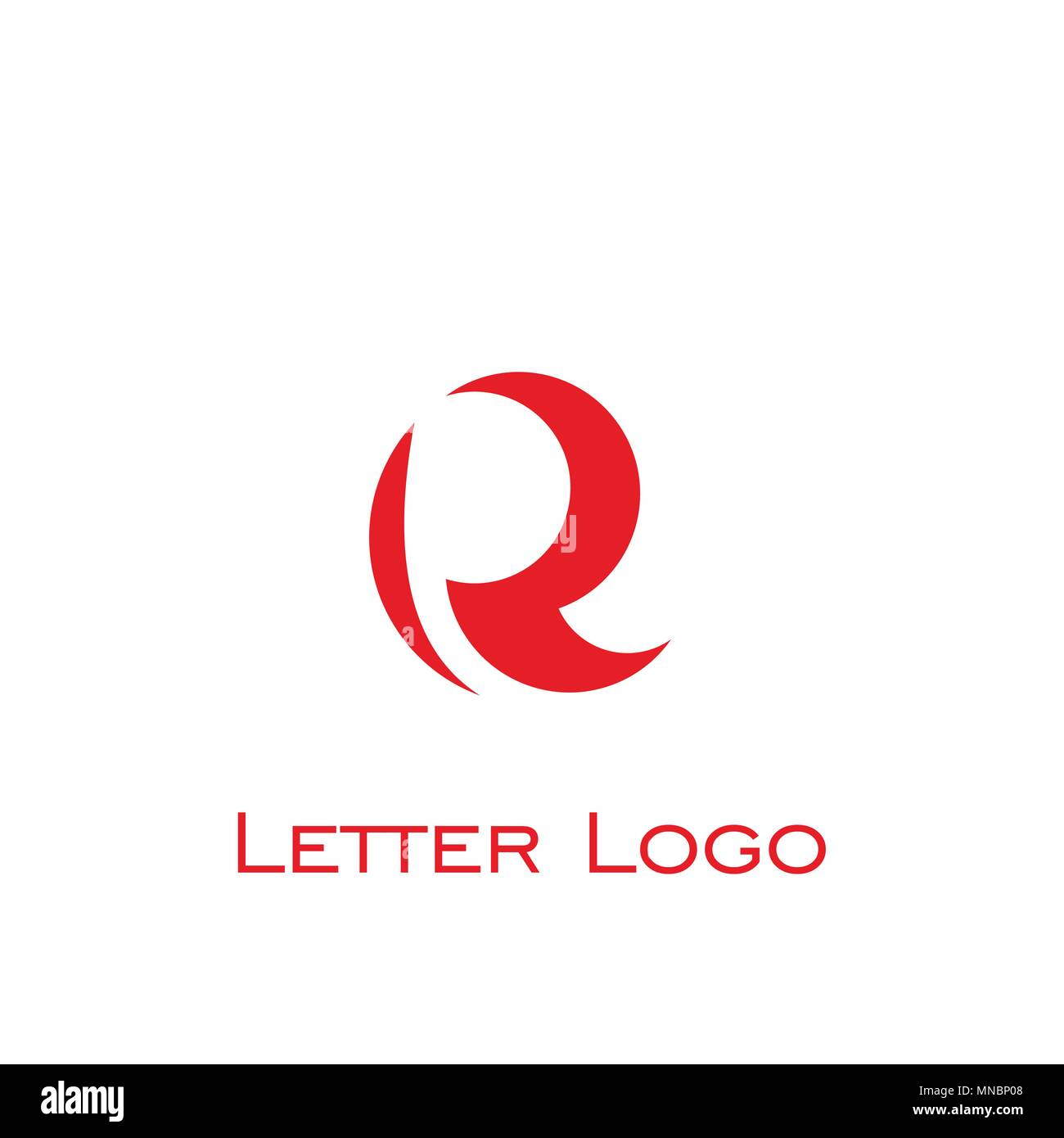 192527c0 R letter logo design. vector icon Stock Vector Art & Illustration ...