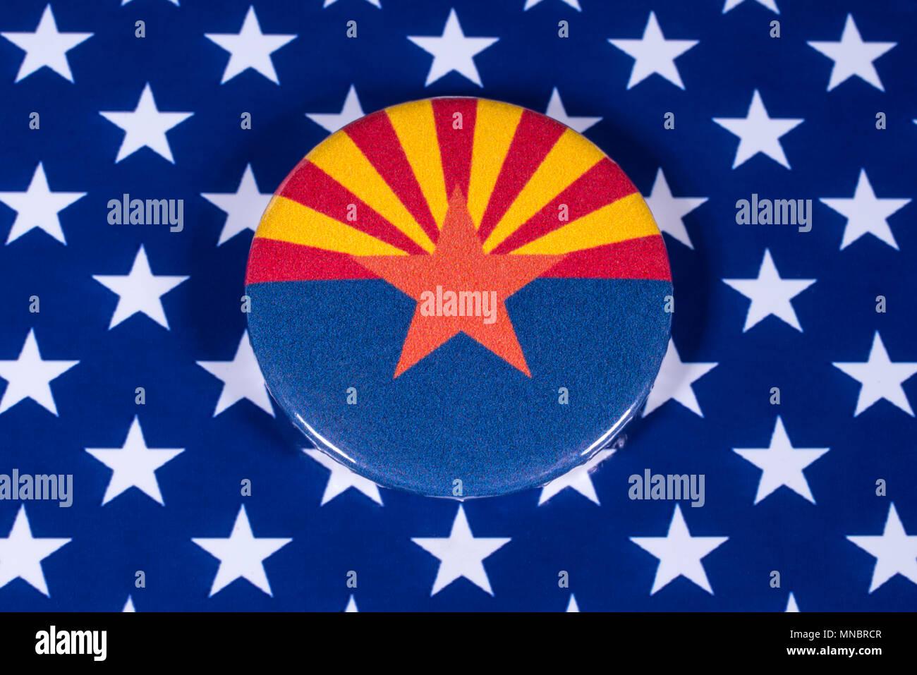 London Uk April 27th 2018 The Symbol Of The State Of Arizona