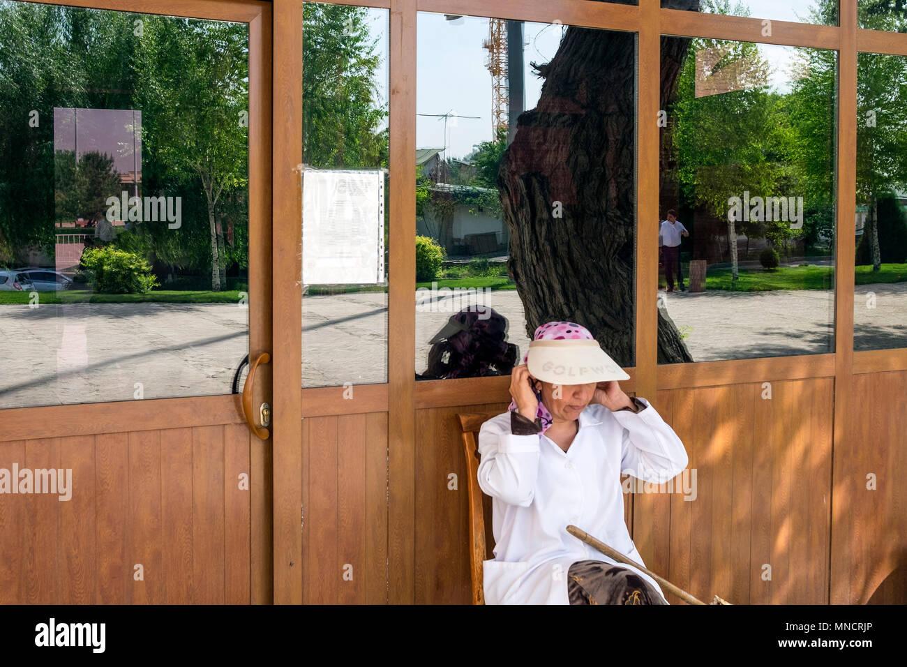 Uzbekistan, Tashkent, daily life - Stock Image