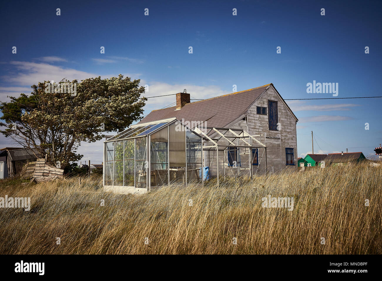 deserted places - Stock Image