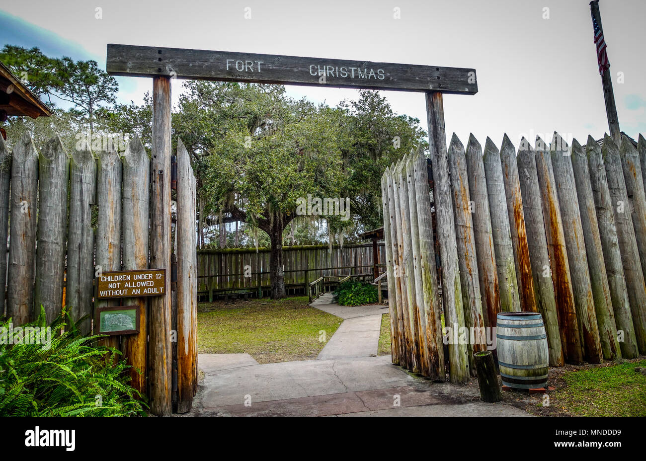 Fort Christmas Florida.Fort Christmas Historical Park In Orange County Central
