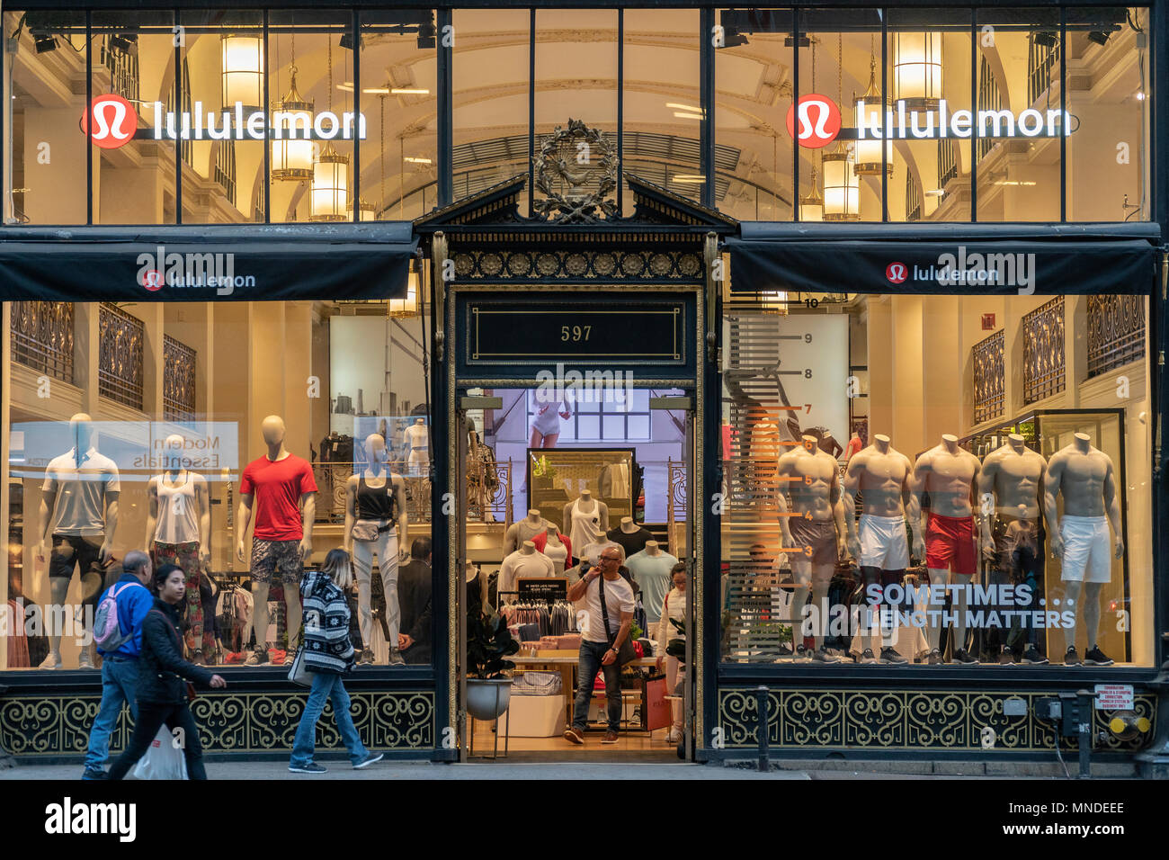 d9943b69abf The Lululemon Athletica store on Fifth Avenue in New York on Tuesday, May 8,