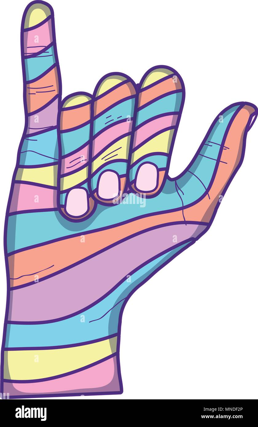 Hang Loose Hand Sign Stock Photos Hang Loose Hand Sign Stock
