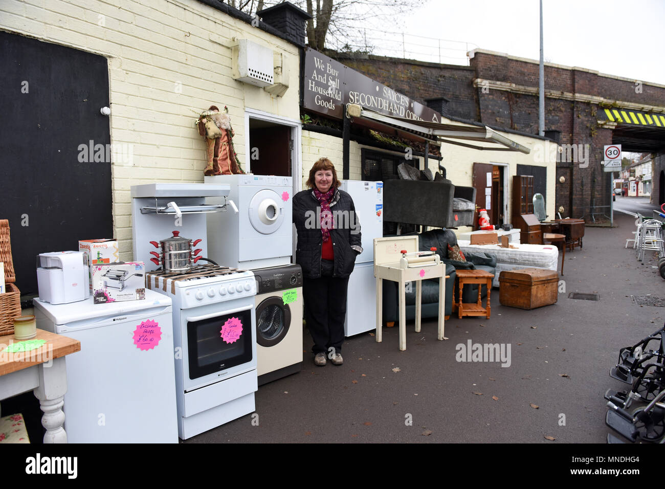 Second hand furniture and household goods shop in Oakengates