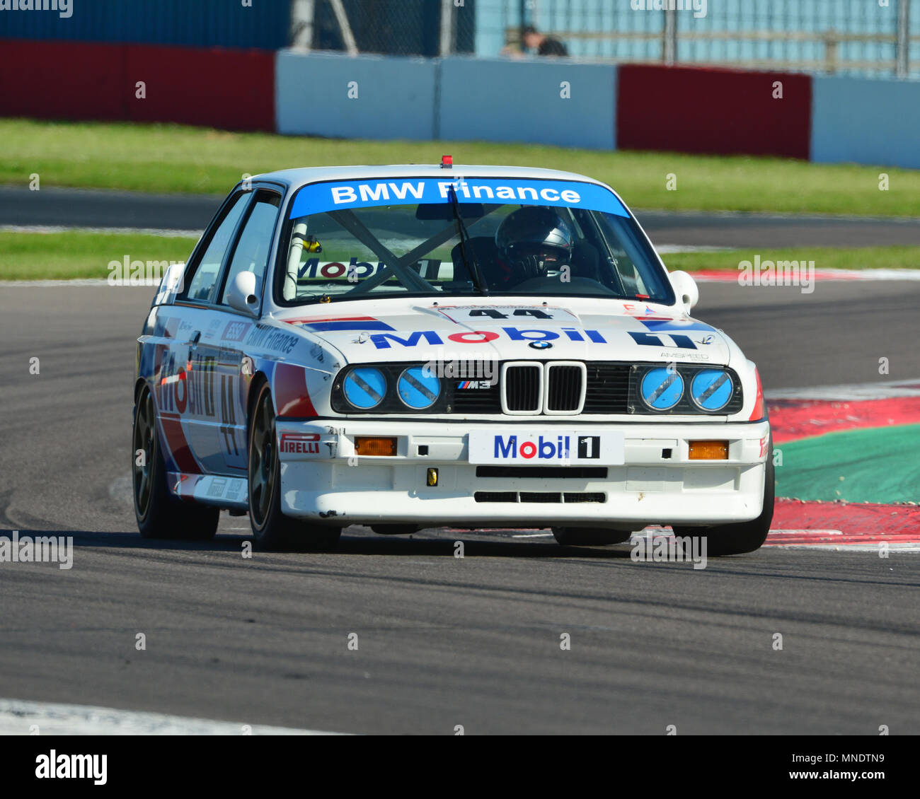 Mark Smith Bmw E30 M3 Super Touring Car Challenge 1970 2005 Touring Cars Donington Historic Festival 2018 Motor Racing Motor Sport Motorsport Stock Photo Alamy