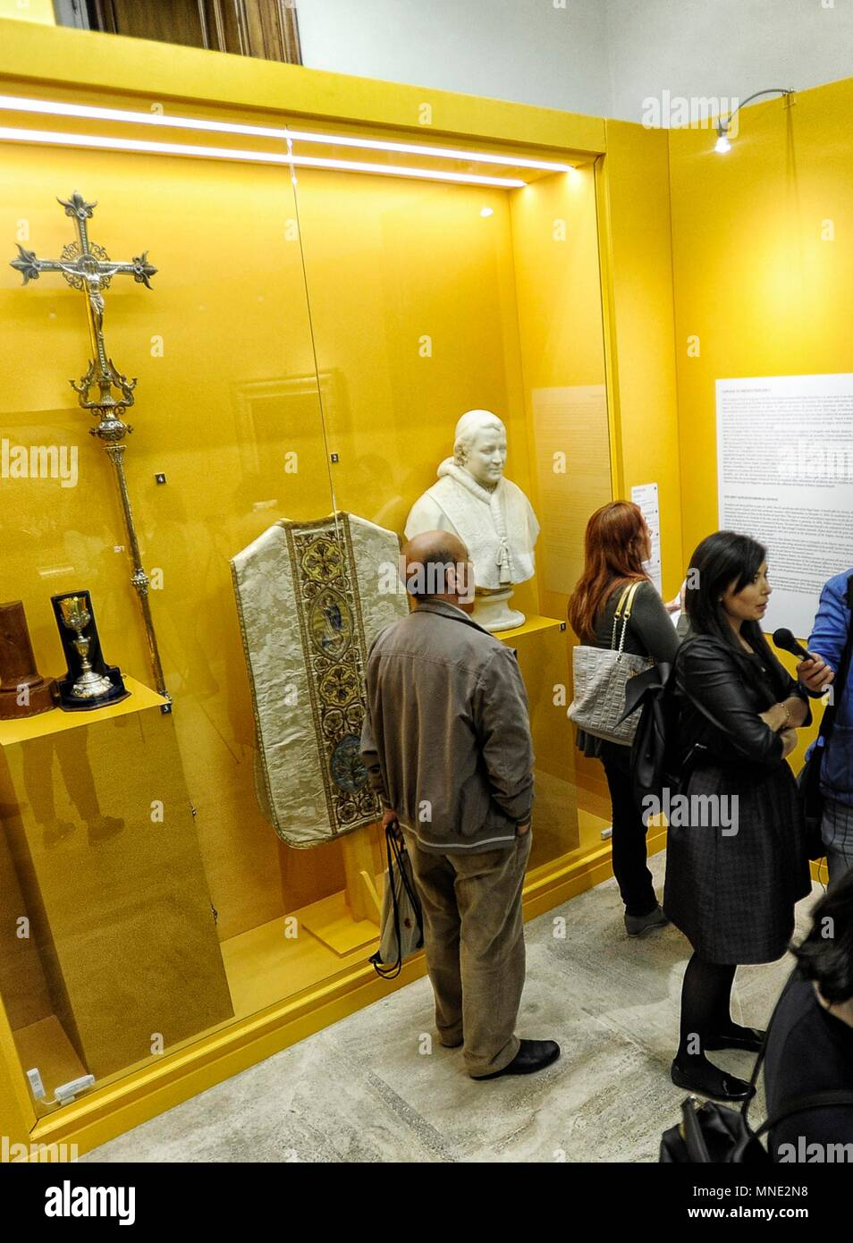 Rome, Capitoline Museums shows the Popes in the Councils of the Modern Era. *** NO WEB *** NO DAILY *** - Stock Image