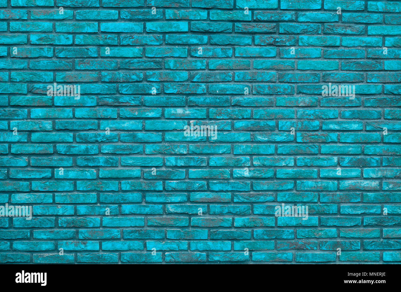 Vibrant Blue Brick Wall Background Wallpaper Bricks Pattern Texture