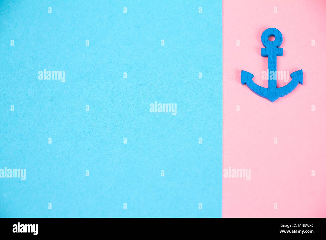 Decorative minimalistic card in pink and neon fashionable