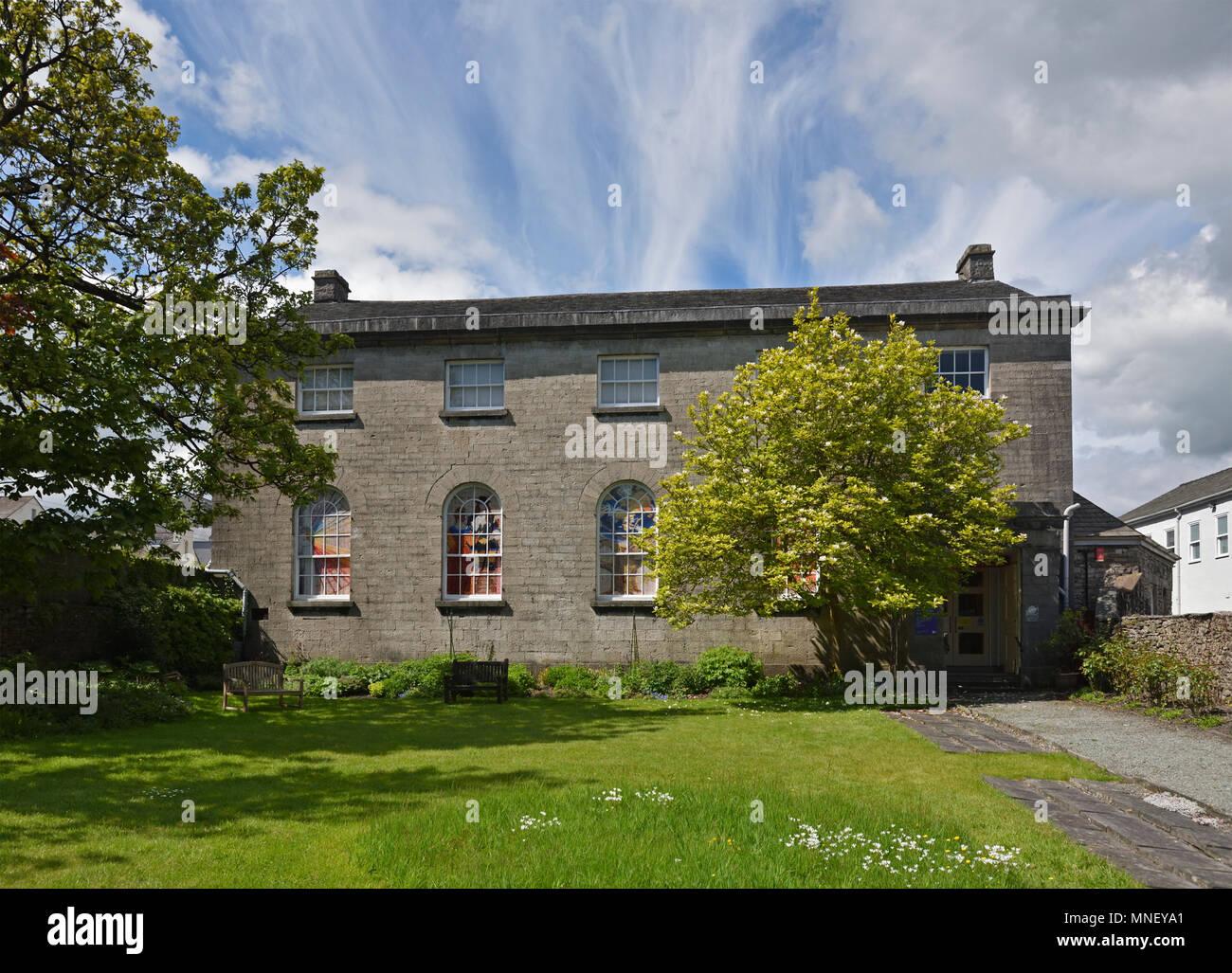 Friends Meeting House. Stramongate, Kendal, Cumbria, England, United Kingdom, Europe. - Stock Image