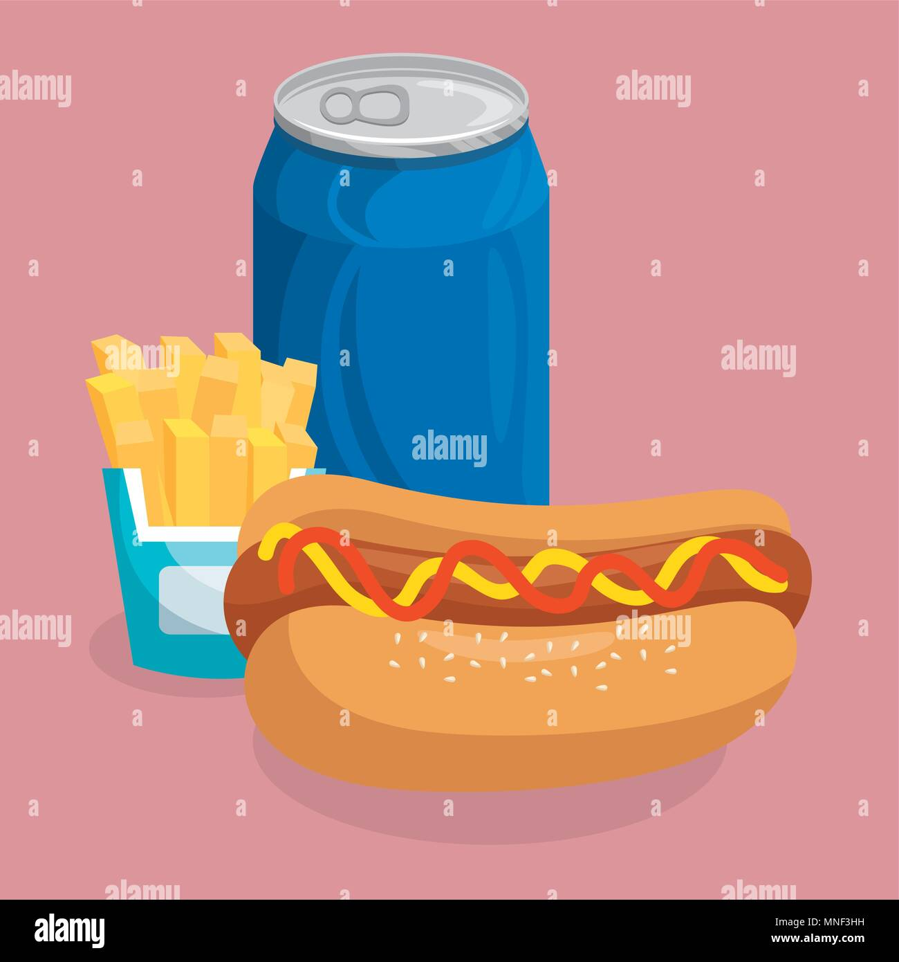Dog Eating Chips Stock Vector Images Alamy