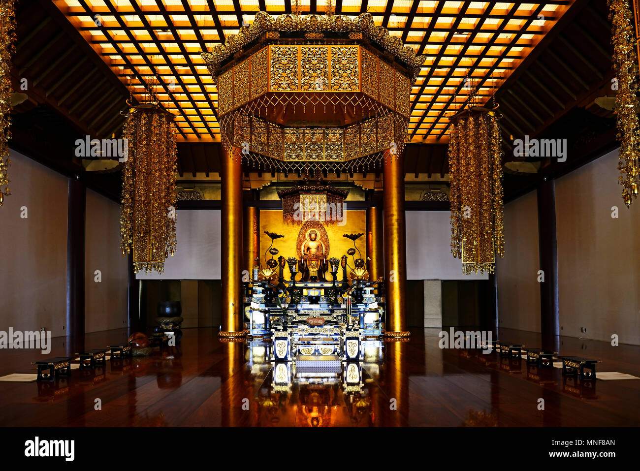 Japan Temple Interior High Resolution Stock Photography And Images Alamy
