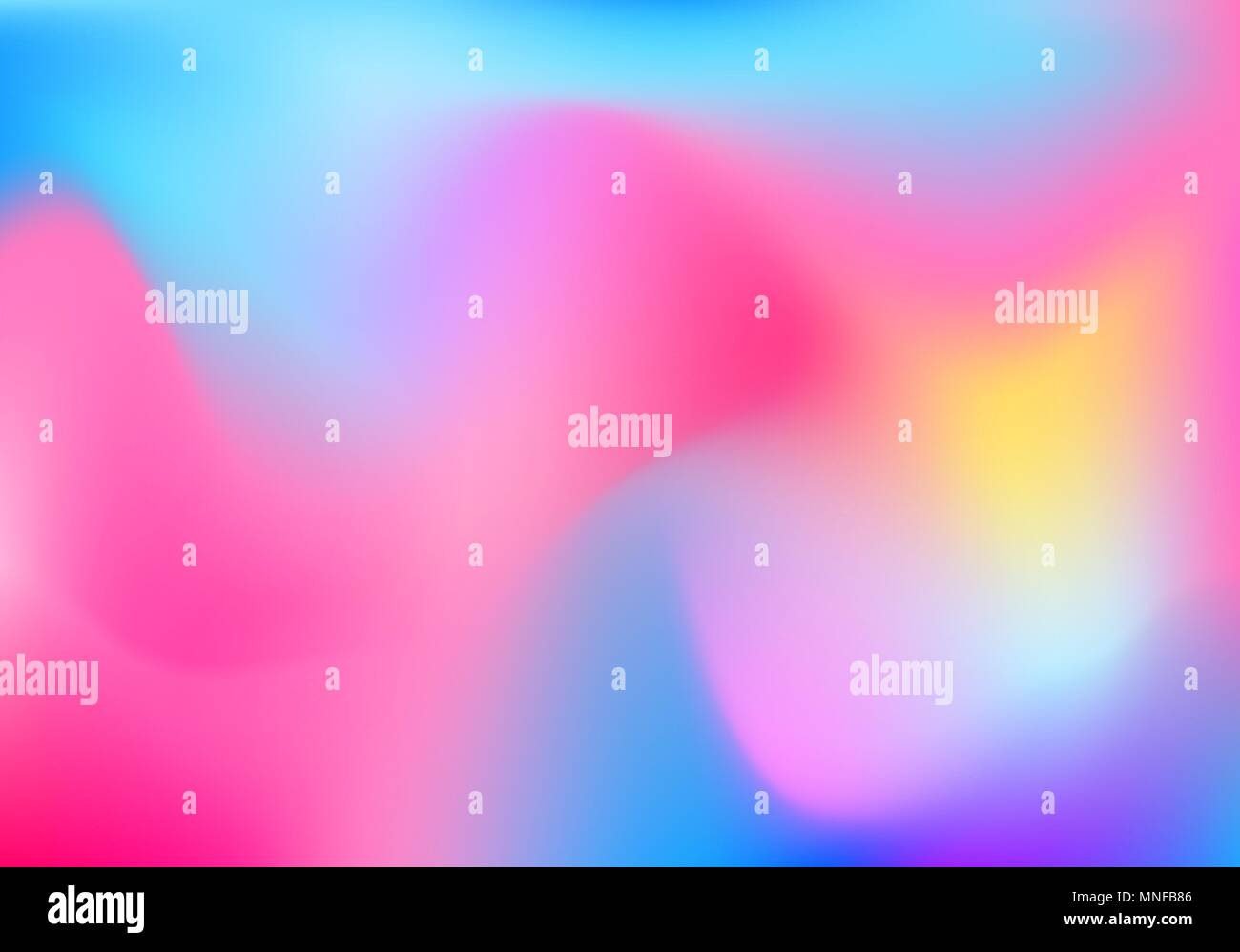 bright gradient blur background for quote vector colorful rainbow